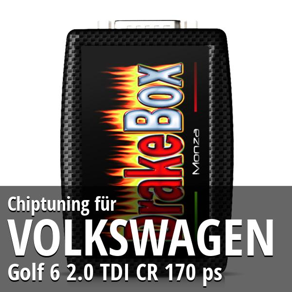 Chiptuning Volkswagen Golf 6 2.0 TDI CR 170 ps