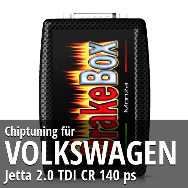 Chiptuning Volkswagen Jetta 2.0 TDI CR 140 ps