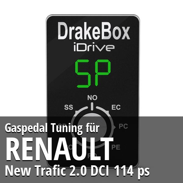 Gaspedal Tuning Renault New Trafic 2.0 DCI 114 ps