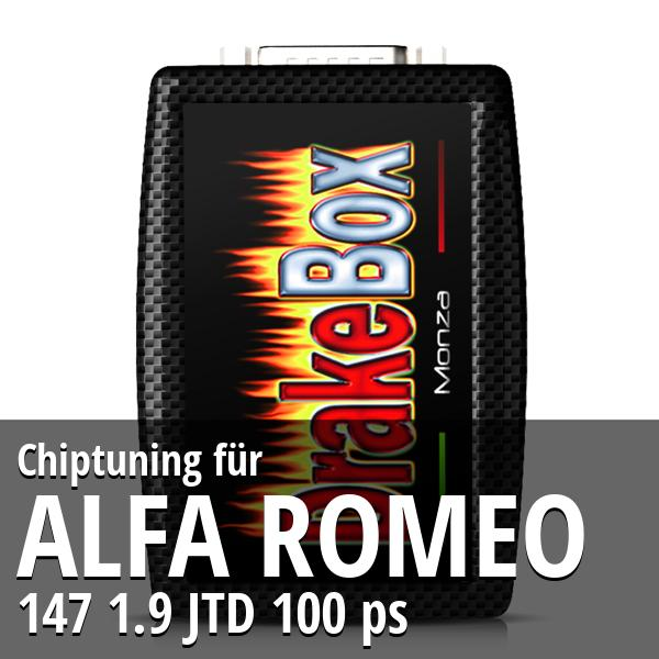 Chiptuning Alfa Romeo 147 1.9 JTD 100 ps