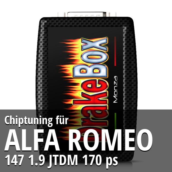 Chiptuning Alfa Romeo 147 1.9 JTDM 170 ps