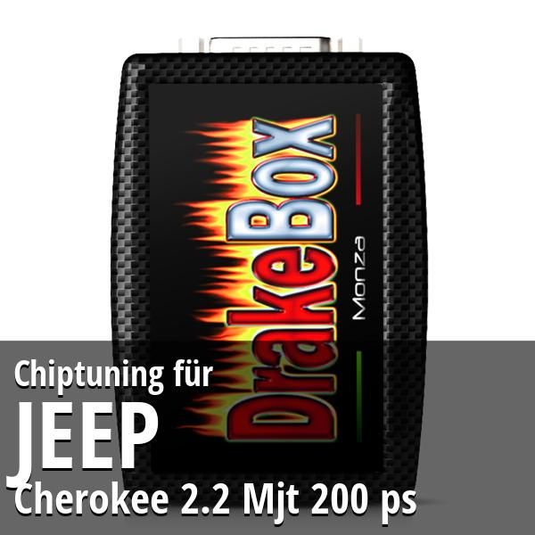 Chiptuning Jeep Cherokee 2.2 Mjt 200 ps
