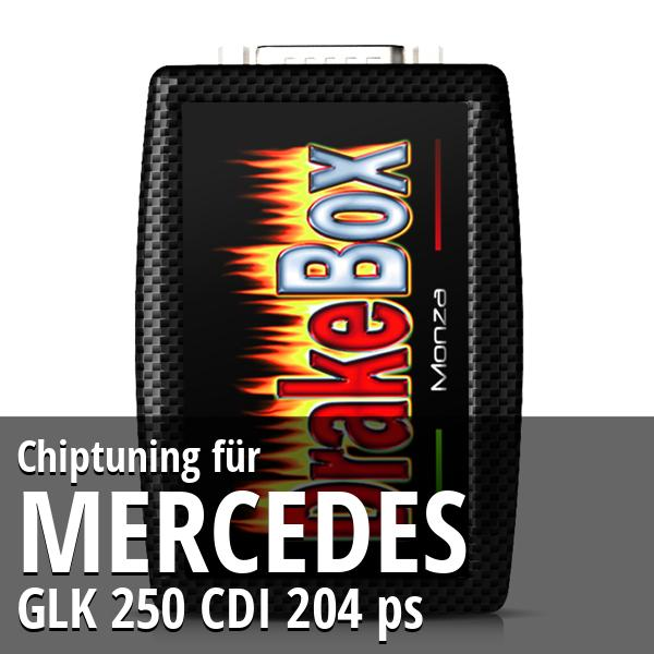 Chiptuning Mercedes GLK 250 CDI 204 ps