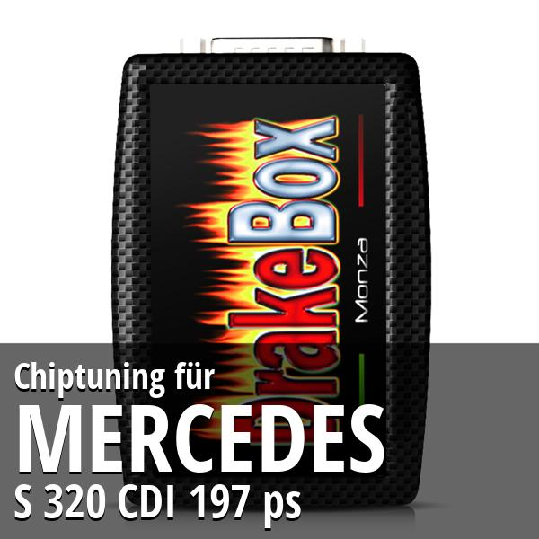 Chiptuning Mercedes S 320 CDI 197 ps