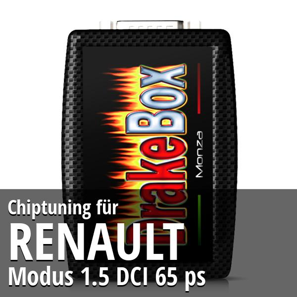 Chiptuning Renault Modus 1.5 DCI 65 ps