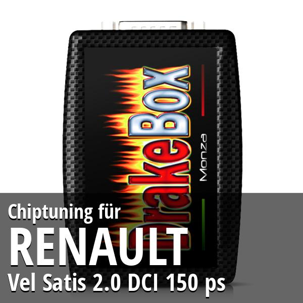 Chiptuning Renault Vel Satis 2.0 DCI 150 ps