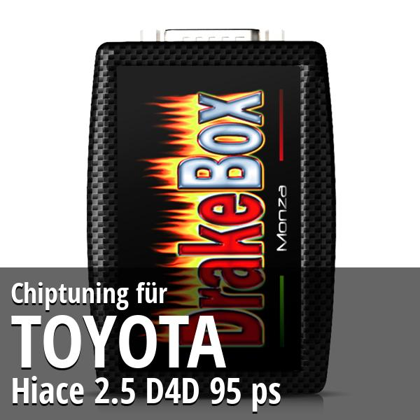 Chiptuning Toyota Hiace 2.5 D4D 95 ps