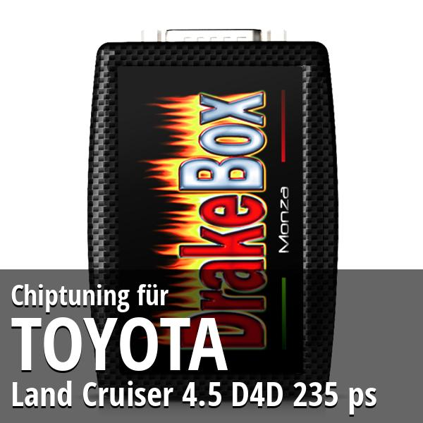 Chiptuning Toyota Land Cruiser 4.5 D4D 235 ps