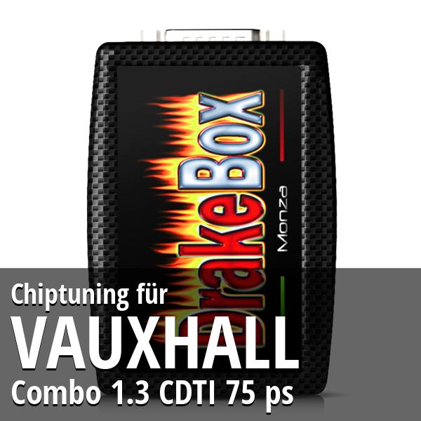 Chiptuning Vauxhall Combo 1.3 CDTI 75 ps